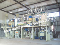 corn flour grits production line for sale/skype:grain.oil