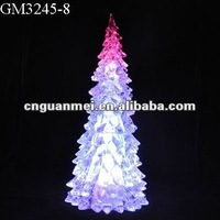 LED Plastic Christmas Tree Shaped Decoration