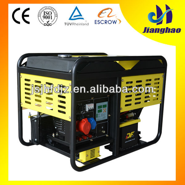 hot sale ISO CE certified 5KW air-cooled best generator home use