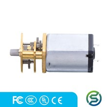Mini electric dc gear motor high speed with the gear box for toy car