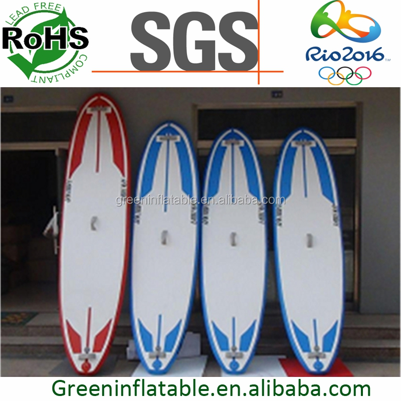 2016 New Inflatable Windsurf paddle Board with windsurf mast base