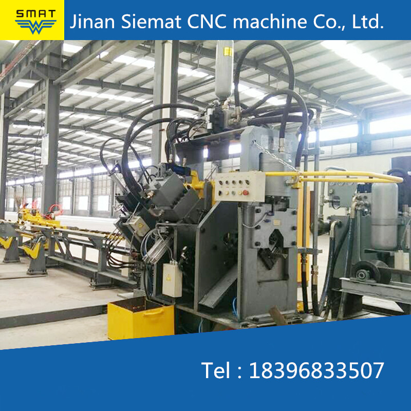 Jinan Siemat CNC angle drilling machine for angle steel tower