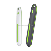 Travel charger case with uv sterilizer for toothbrush