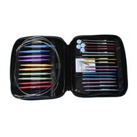 Wholesale Mixed Interchangeable Aluminum Sweater Knitting Needles Set