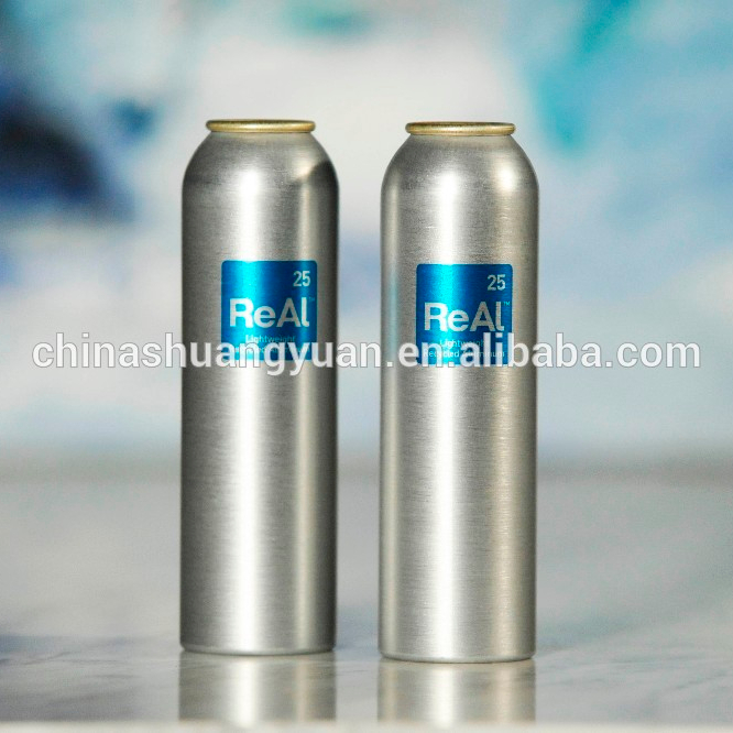 Custom empty aluminum aerosol spray can
