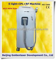 2013 New design E-light+IPL+RF machine tattooing Beauty machine plastic tattoo grip