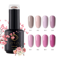 Tenteu Private Label Nude Series Color UV LED Nail Gel Polish