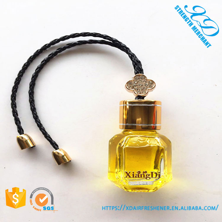 Wholesale Hanging Glass Bottle Car Perfume with Good Smell