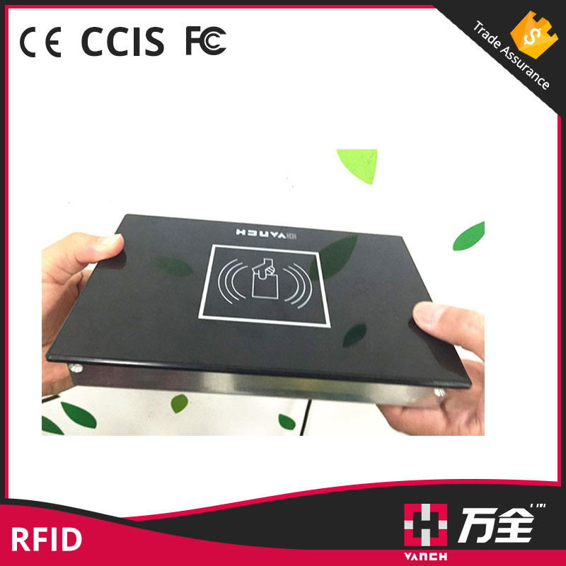 RS232 Desktop UHF rfid reader for library