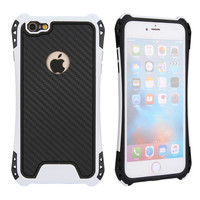 Wholesale alibaba hot sales pc tpu white color hybrid armor mobile phone covers for iphone 6 plus 6s plus