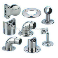 customized cast furniture leg cap chrome protectors