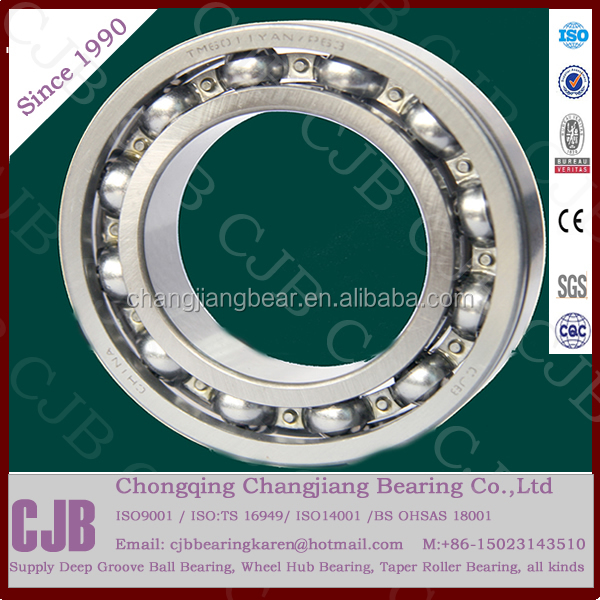 TS16949 certified China high speed Deep Groove Ball Bearings