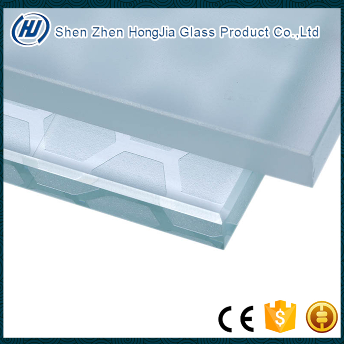 Frosted glass panel for office partition glass wall /frosted glass bathroom door