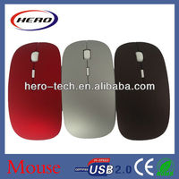 Hot sell super slim wireless mouse