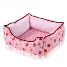 New Pet Affirmative Strawberry Nest Acrylic Dog Beds