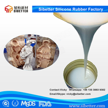 Liquid Silicone Rubber to Mould Making for Sculpture Statue