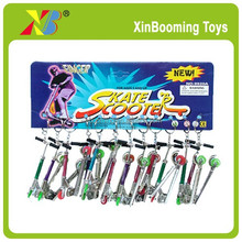 Promotional key chain toys Die cast finger Scooter