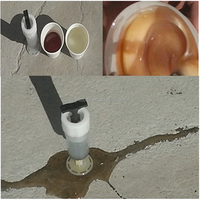 cheap and fine concrete crack repairing adhesive and epoxy resin