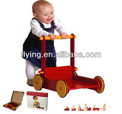 Toys Baby Walker, balance wooden toy, red
