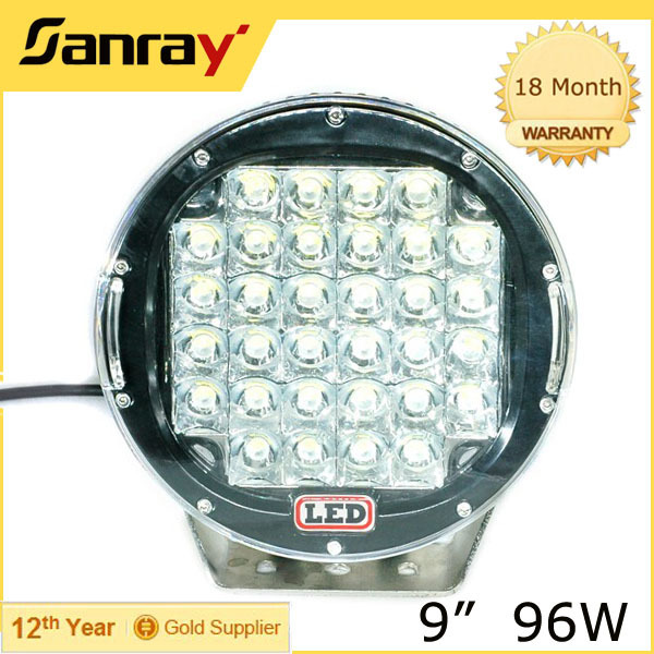 96w led driving light car off road led light bar auto headlight bar