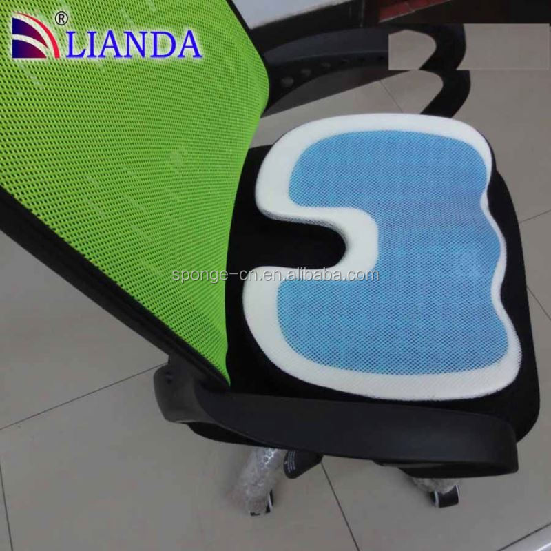 Shenzhen Manufacturer Magical Sofa Cooling Gel Car Seat Cushion With Antislip Cover