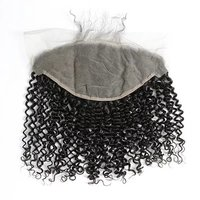 Brazilian Hair Wave Free Parting Natural Curly Lace Frontals