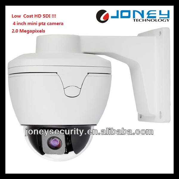Low Cost 2.0Megapixel 4 Inch mini HD SDI CCTV ptz Camera WDR control