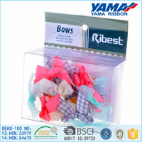 Hot selling fashion dog pet hair bows for wholesale