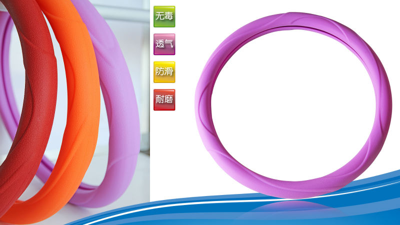 silicone girl steering wheel covers