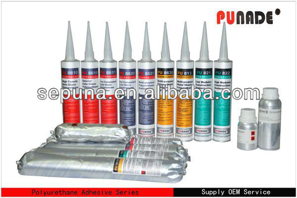 High quality pu sealant for Marine/boat/Ship, waterproof and acid proof seal/rib hypalon inflatable boat adhesive