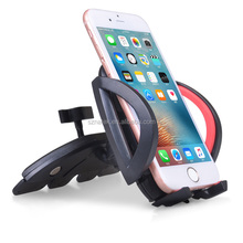 Hot sale mobile phone accessories Universal Car Mount phone Holder CD Player Slot Cradle cell phone dock car CD Slot Smartphone