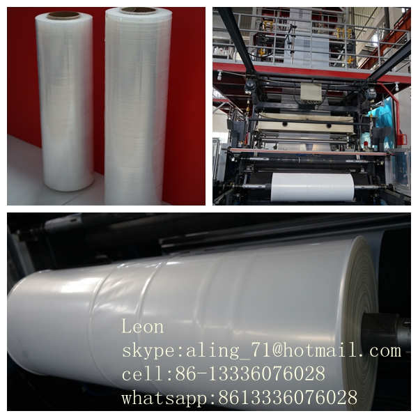 high quality clear tpranparency UV stablized antistatic conductive corona treated printable LDPE MDPE plastic pe film bag rolls
