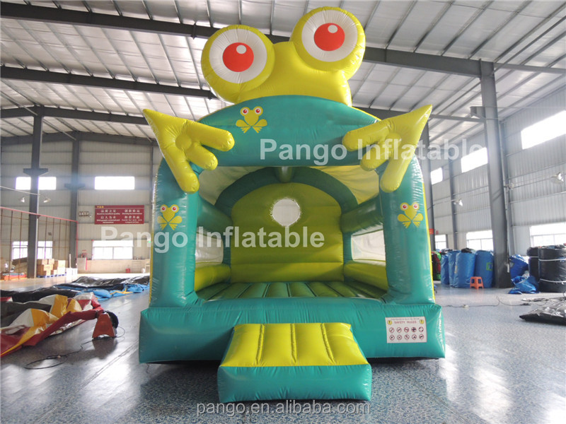Amazing!Inflatable forg bounce house,inflatable bounce,wholesale commercial bounce houses