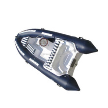 4.3m China RIB PVC inflatable boat / rigid hull inflatable boat / factory cheap inflatable boat for sale