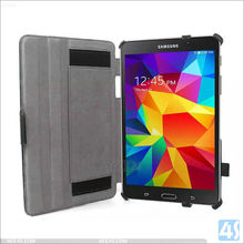 Six hot set pu leather case for samsung tab e t560