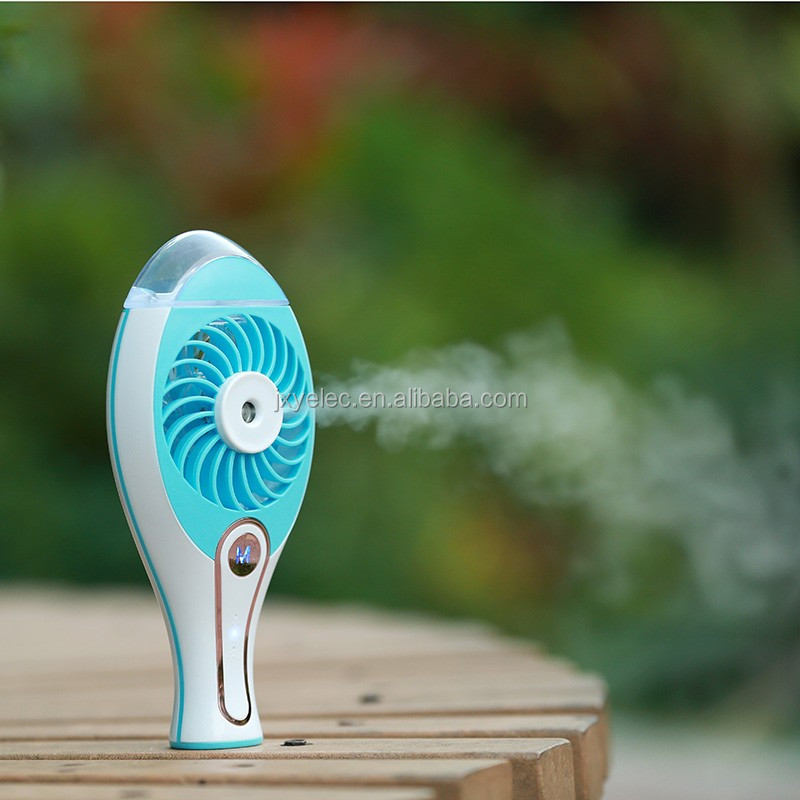 Travel USB Charging Battery Mini Handy Cool Mist Fans with Adjustable Model