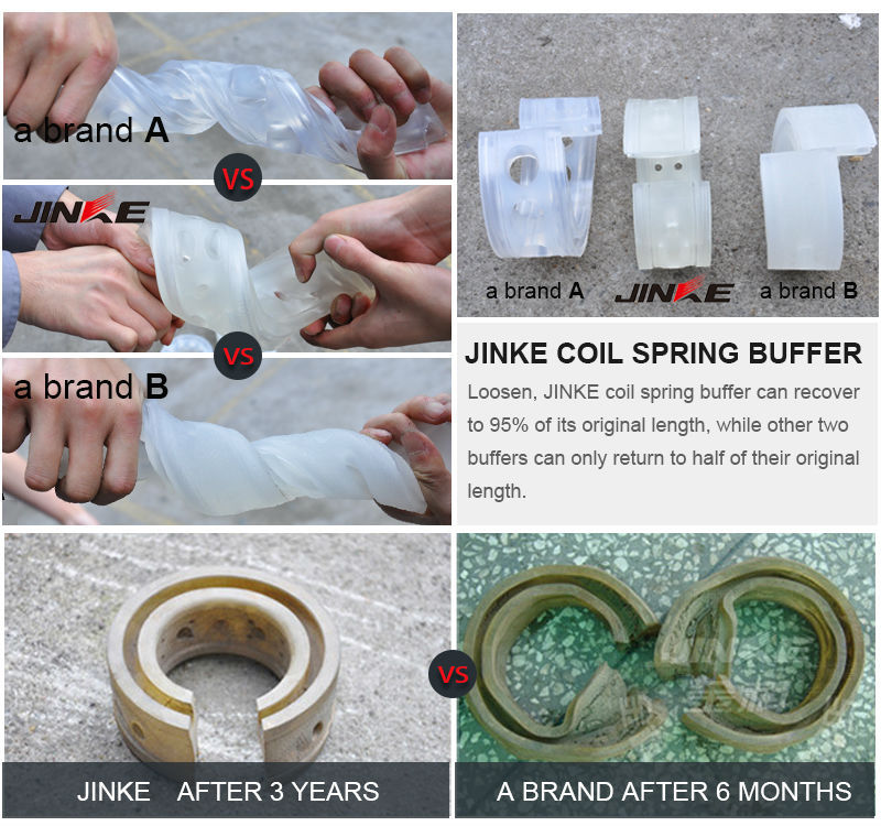JINKE coil spring buffer for protecting car suspension buffer