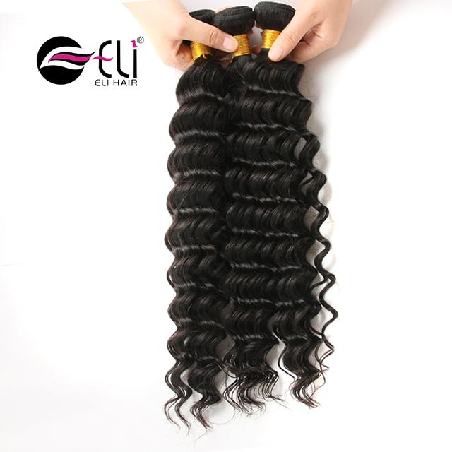 Wholesale Top Quality Peruvian Deep Wave Hair Bundles 100% Deep Wave Human Hair Extension