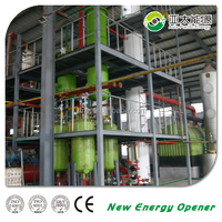 Automatic Manufacturer High Quality Scrap Tyre Oil Filtration Machine ISO CE certificate