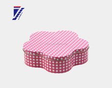 Fashionable(in)style tea canisters wholesale abnormal shape tin box