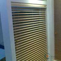 security window roll up shutters make wood blinds