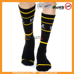 high quality tribal check sock jacquard sock women crew sock thick wool sock