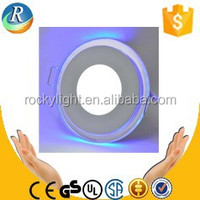 double color Glass Led panel light