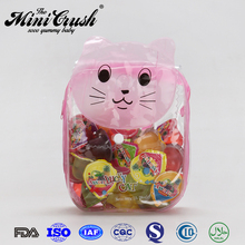 Lucky cat gift packing sweets and cadies,strawberry shaped candy