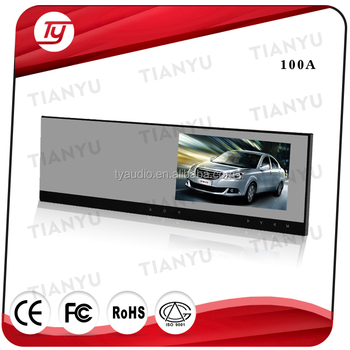 4.3 inch rearview mirror car dvr car gps navigation with wireless rearview camer