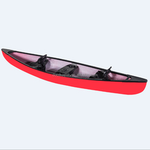 LLDPE plastic kayak canoe with big seat