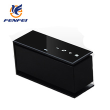 Bluetooth speaker hands free call with touch screen TF card headphone jack