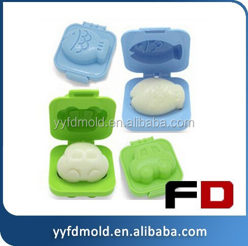 best selling plastic egg animals die mold rice children eat the good helper of plastic injection mould