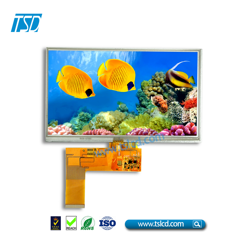 "Shenzhen lcd manufacturer selling 7"" tft lcd touch panel kit 800x480 with cheap price"