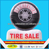 Factory price inflatable tire balloon cheap on sale